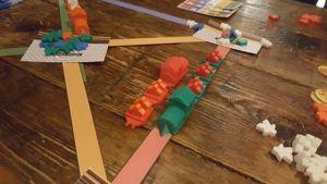 Celtic Cardboard Kieron Rail Game April