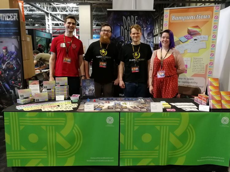 Celtic Cardboard at UKGE 2018